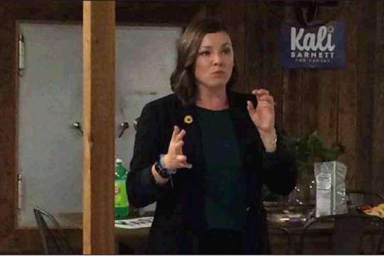Barnett's experiences inspire her politics