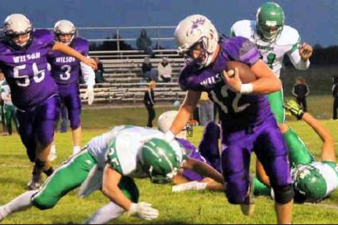 Wilson falls in Homecoming loss against Northern Valley